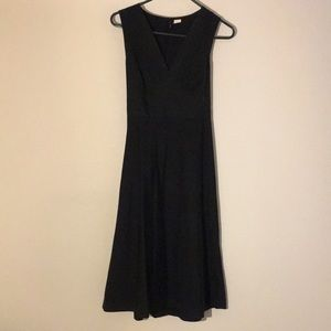 LBD J Crew Classy Fit and Flare with Tie